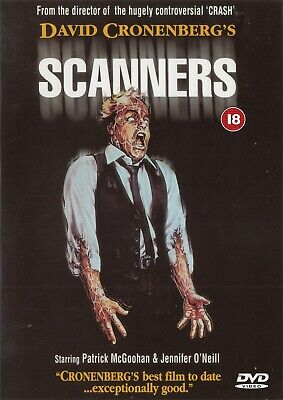 David Cronenberg's Scanners (Arrow Films) - NEW Region 2 DVD