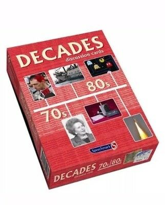 Decades Discussion Cards 70s/80s by Speechmark Publishing Ltd ISBN:9781909301085