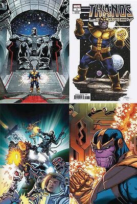 Thanos Legacy 1 4 Cover Set Cates 9/5 2018 FREE SHIPPING