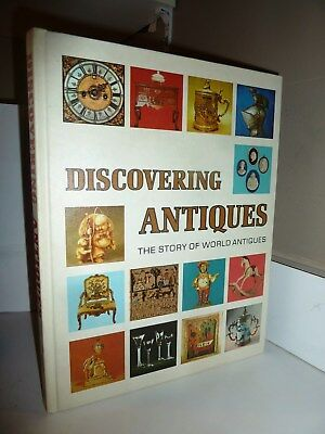Discovering Antiques The Story of World Antiques Vol. 1,1972, HC, LN
