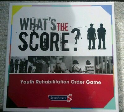 4x What's The Score Youth Rehabilitation Order Board Game New ISBN:9780863888304