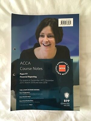 BPP ACCA F7 Course Notes | LIKE NEW