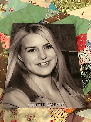 "Signed Headshot from Juliette Danielle aka ""Lisa"" from The Room"