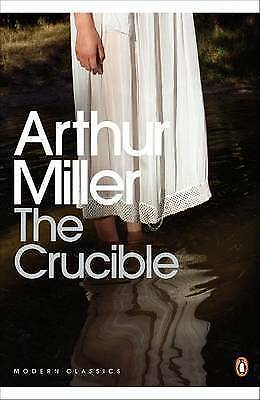 The Crucible: A Play in Four Acts (Penguin Modern Classics)-ExLibrary