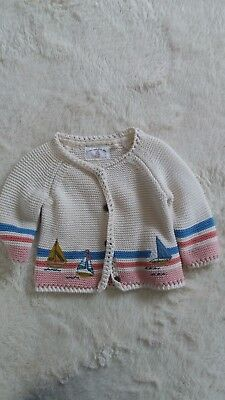 Next baby girl cardigan up to 3-6 months