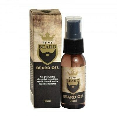 By My Beard Oil Mens Facial Hair Moisturiser