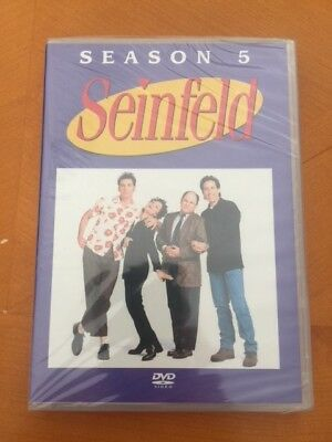 Seinfeld Season 5 DVD's New, Sealed