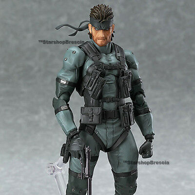 METAL GEAR SOLID 2 - Sons of Liberty - Solid Snake MGS2 Ver. Figma Action Figure