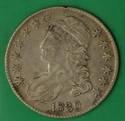 1830 Capped Bust Half Dollar Small Letters