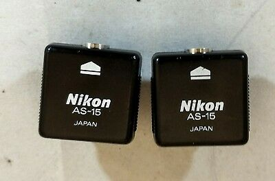 Nikon AS-15 Hot Shoe to PC Sync Terminal Adapter