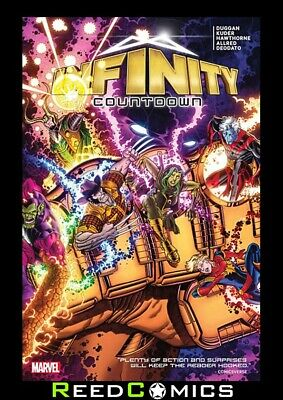 INFINITY COUNTDOWN GRAPHIC NOVEL (264 Pages) Collects 5 Part Series + more
