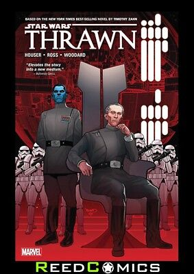 STAR WARS THRAWN GRAPHIC NOVEL New Paperback Collects 6 Part Series