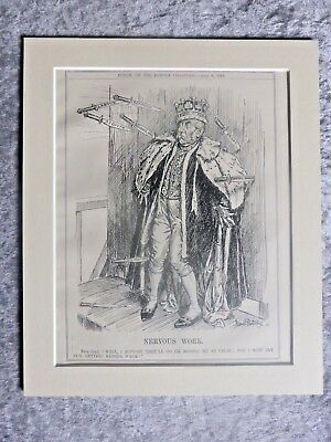 Vintage Punch Cartoon: House Of Lords Under Attack Again, 1910.