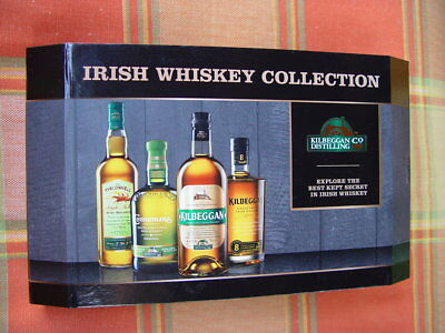 Irish Whiskey Collection Killbeggan connemana 4x in Magnetbox