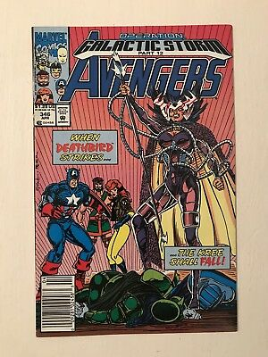 Avengers 346 * 1st Starforce Newsstand * Free Tracked Delivery