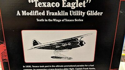 """Texaco Eaglet"" Modified Franklin Utility Glider WINGS OF TEXACO BRAND NEW MINT"