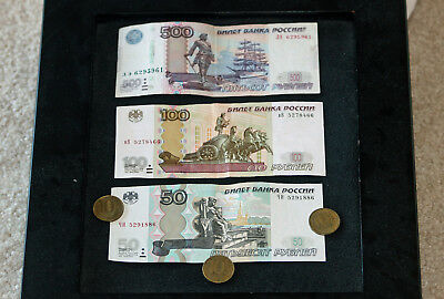 680 Russian Roubles Rubles, pocket change for your Russian vacation!