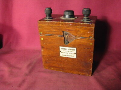 Antique John Bell & Croyden / Arnold & Sons Wigmore St. London Electrical Device