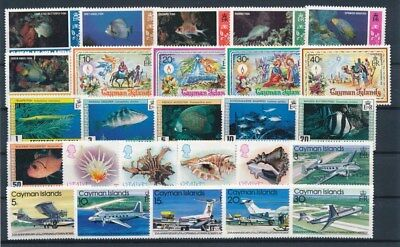 [G85168] Cayman Islands good lot Very Fine MNH stamps