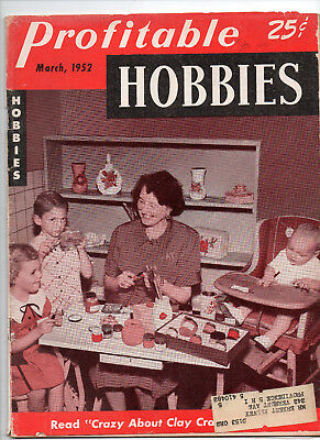 March 1952/Profitable Hobbies/Preowned MAGAZINE