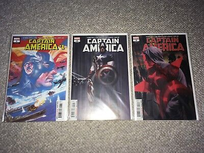 Marvel TA-NEHISI Captain America 1-3 NM