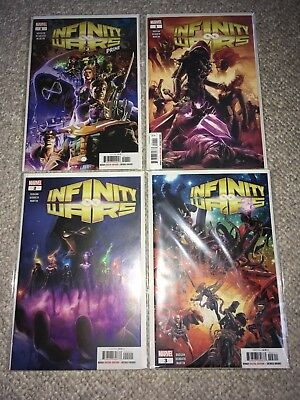 Marvel Infinity Wars 1-3 Prime 1 Set Lot Nm