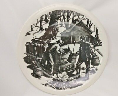 "Wedgewood ~ Clare Leighton ~ New England Industries ""Sugaring"""