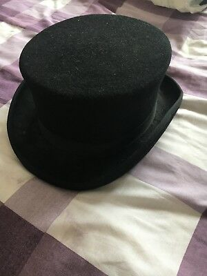 top hat, black, never worn