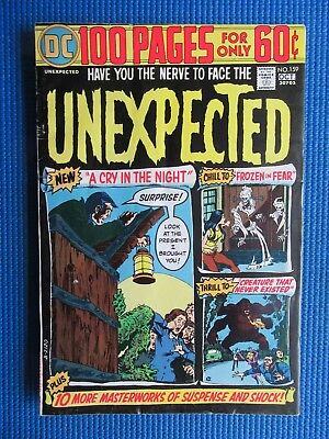 The Unexpected # 159 - (Fine) - A Cry In The Night