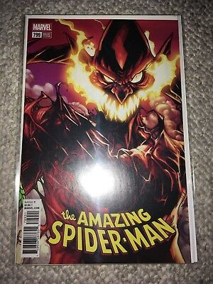 Amazing Spider-Man #799 Ramos Connecting Variant NM {Marvel, 2018}