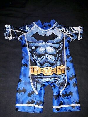 Boys NEXT Batman Swimming Costume in size 3-6 months.