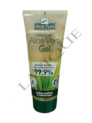 Pack of 2/3/4 Aloe Pura Organic Aloe Vera Skin Treatment Healing Gel 200ml