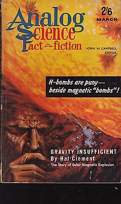 Analog Science Fact & Fiction Magazine, 6 editions from early 1960s