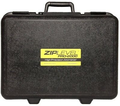 19.2 in. Ziplevel Standard Duty Shipping Tool Storage Case Foam Plastic Black