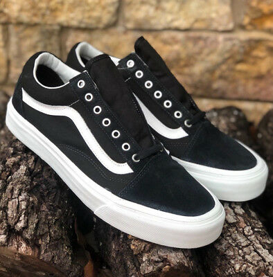 "New!  VANS ""Old Skool"" Snake Black/Blanc Suede/Canvas VN0A38G1OS3 Men's Sizes"
