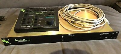 Studio Technologies Studiocomm AES Model 76 Central Controller w 77 control