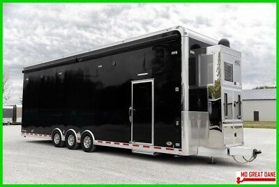 Aluminum Used 2017 ATC Quest ST305 Stacker Living Quarters Trailer w/WARRANTY!