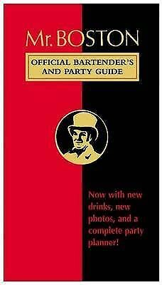 Mr. Boston, official bartender's and party guide by Renee Cooper (Paperback /