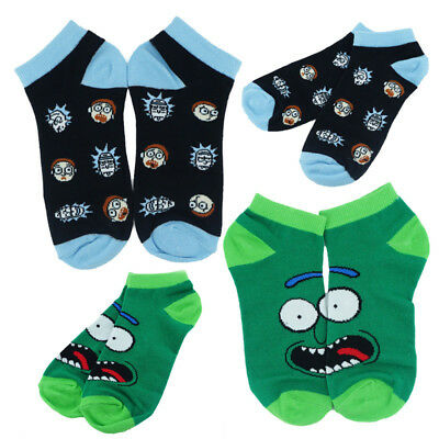 Anime Rick and Morty Short Socks Fashion Tight Ankle Socks Cartoon Casual Socks