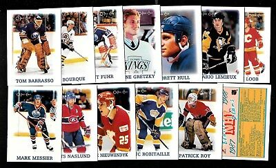 1988-89 Opc O Pee Chee Leaders Nhl Hockey Mini-Card See List