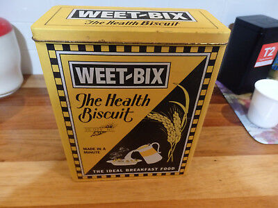 Collectable Large Weet-bix Oats Cereal Tin