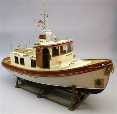 Krick Dumas Boats Lord Nelson Victory Tug Boat Rc Kit/ds1225