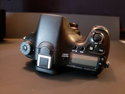 Sony Alpha a77II with 16-50 lens, 4 batteries & charger. (Like new condition!)