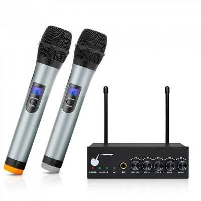 "ARCHEER Bluetooth Wireless Microphone System for Karaoke Machine with 1/4""..."