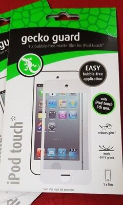 4 x Screen guard Ipod 5th Gen Matte