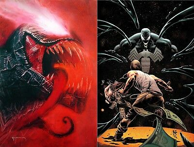 Venom Annual 1 Set with Sienkiewicz Variant and Cover A 10/17 FREE SHIPPING