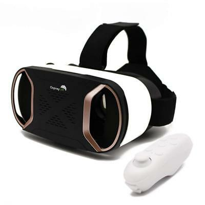 VR Headset with Wireless Remote - Virtual Reality Goggles For iPhone Samsung...