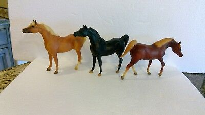 Breyer Model Horse lot - 3 classic stallions - Sagr and Black Stallion molds