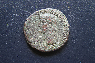 ANCIENT ROMAN GERMANICUS AS struck by CALIGULA COIN 1st CENT AD CAESAR