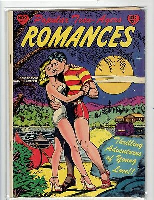 Popular Teen -Agers Romances #9 L. B. Cole Amazing Moonlight cover!